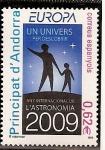 Stamps Andorra -  Año Internacional de la Astronomía