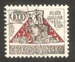 Sellos de Europa - Checoslovaquia -  1422 - 550 anivº de la muerte del reformista religioso Jan Hus