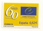 Sellos de Europa - España -  Consejo de Europa