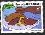 Sellos de America - Granada -  Lady and the Tramp