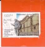 Sellos de Europa - España -  PATRIMONIO MUNDIAL DE LA HUMANIDAD- UNIVERSIDAD Y RECINTO HISTÓRICO ALCALÁ DE HENARES (14)