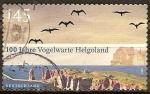 Sellos de Europa - Alemania -  100 años de la estación ornitológica Helgoland.