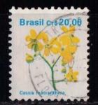 Sellos del Mundo : America : Brasil : Cassia macranthera