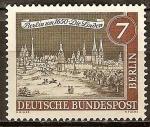 Sellos del Mundo : Europa : Alemania : Antiguo Berlín (Die Linden).