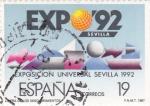 Sellos de Europa - España -  EXPO-92 SEVILLA (14)