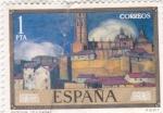Stamps Spain -  SEGOVIA- PINTURA DE ZULOAGA (14)