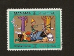 Stamps United Arab Emirates -  MANAMA Depend. of AJMAN Cuentos Infantiles  Pulgarcito