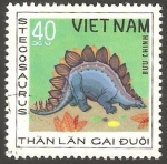 Sellos de Asia - Vietnam -  Animal prehistórico