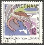 Stamps Vietnam -  Animal prehistórico
