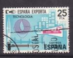 Stamps Spain -  españa exporta- tecnologia