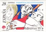 Stamps : Europe : Spain :  COMPOSTELA-93 (14)