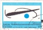 Stamps : Europe : Spain :  FUNDACIÓ MIRÓ - Barcelona (14)