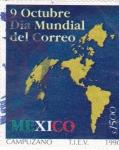 Sellos de America - México -  Día Mundial del Correo