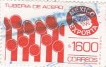 Sellos de America - México -  México Exporta- TUBOS DE ACERO