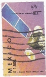 Stamps Mexico -  Satélite comunicaciones