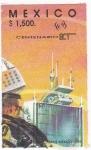 Sellos de America - México -  Centenario SCT