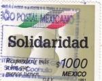 Sellos de America - México -  Solidaridad