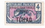 Sellos de Africa - Chad -  Africa Ecuatorial