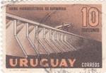 Sellos de America - Uruguay -  Usina  hidroeléctrica de Baygorria