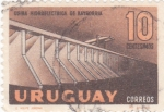 Stamps Uruguay -  Usina  hidroeléctrica de Baygorria