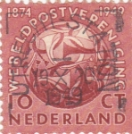 Sellos de Europa - Holanda -  Escudo