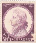 Sellos de Europa - Alemania -  Wolfgang Amadeus Mozart