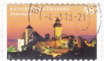 Stamps Germany -  Kaiserfurg Nürnberg