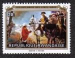 Sellos del Mundo : Africa : Rwanda : Bicentenaire Des Etats-Unis 1776-1976