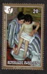 Stamps Rwanda -  The Toilet