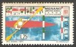 Sellos de Europa - Italia -  1076 - Campeonato mundial de canoa, en Merano