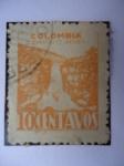 Stamps : Asia : Cyprus :  Salto del Tequendama.