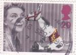 Stamps United Kingdom -  Miffin The Mule -Marioneta de serie televisión