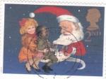 Stamps : Europe : United_Kingdom :  Ilustración navideña