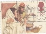 Sellos de Europa - Reino Unido -  San José, María y Jesús