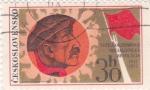 Sellos de Europa - Checoslovaquia -  Gran revolución de octubre