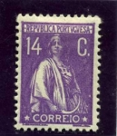 Stamps Portugal -  Diosa Ceres