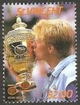 Sellos de America - San Vicente y las Granadinas -  994 - Boris Becker, tenista