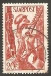 Stamps Germany -  Saar - 242 - Trabajadores de la industria