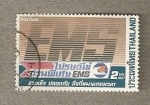 Stamps Asia - Thailand -  EMS