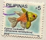 Stamps Philippines -  Pez Pijama de Cardenal