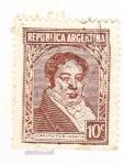 Stamps Argentina -  arnaldino rivadavia