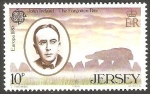 Stamps Europe - Jersey -  341 - John Ireland, compositor
