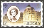 Stamps Europe - Jersey -  342 - Ivy Saint Hélier, cantante