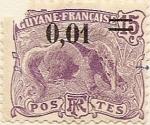 Stamps America - Guyana -  Guyane Française