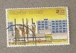 Sellos de Asia - Tailandia -  Desarrollo de alojamientos 1988