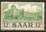 Sellos de Europa - Alemania -  Saar - 312 - Central de Correos de Saarbrucken