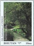 Stamps Bhutan -  CROACIA - Parque nacional de Plitvice