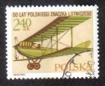 Sellos del Mundo : Europa : Polonia : 50 años de la aviación civil