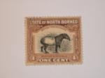 Stamps : Asia : Malaysia :  North Borneo