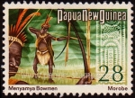 Stamps Oceania - Papua New Guinea -  SG 254